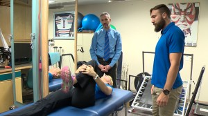 Treating lower back pain: A few simple exercises and stretches