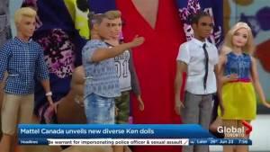 Mattell's make over of the Ken doll