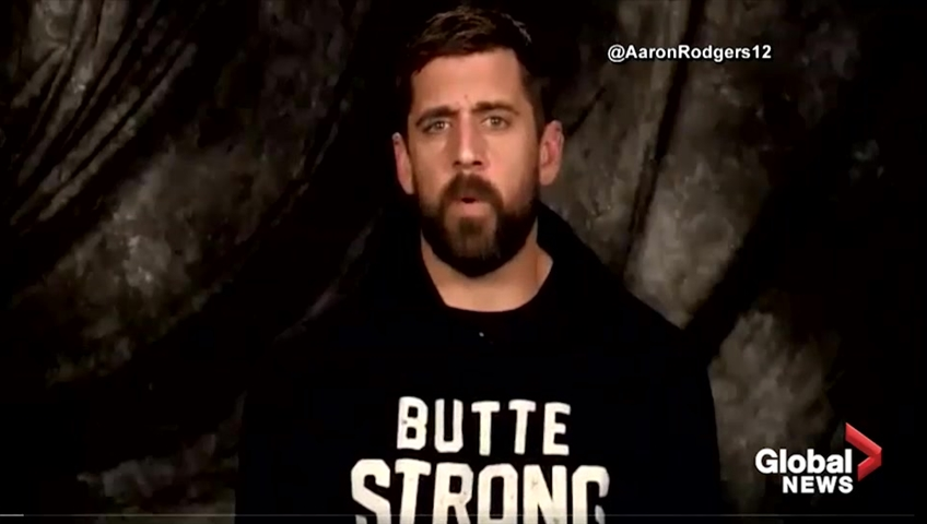 Aaron Rodgers donating $1 million for wildfire relief efforts in California