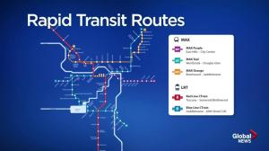 Calgary's MAX rapid transit system opening in November