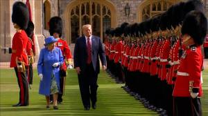 Trump accepts invitation for state visit to U.K. from Queen Elizabeth II
