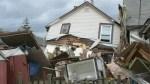 Hamilton house explosion sends elderly man to hospital
