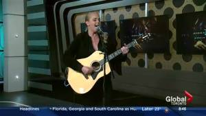 Jessica Mitchell performs her single, 'Workin' on Whiskey'