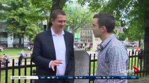 Opposition Leader Andrew Scheer on U.S. tariffs