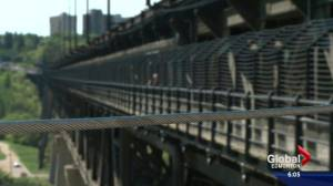 Suicide barriers on High Level Bridge make span harder to navigate