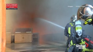 Notre Dame fire: Video shows how firefighters struggled to battle the blaze