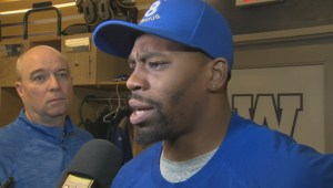 RAW: Blue Bombers Chris Randle Interview – Nov. 16