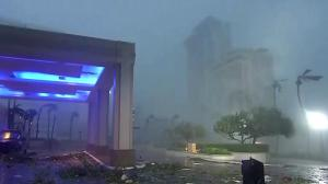 Maria makes landfall in Puerto Rico, wipes out power