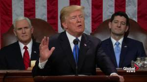 Donald Trump State of the Union – Full address