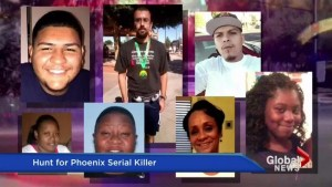 Police issue warning in Phoenix over suspected serial shooter
