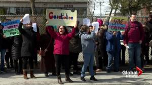 Galileo students and staff protest school closure