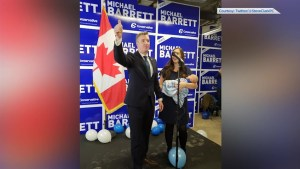 Barrett secures seat in Leeds-Grenville, Thousand Islands and Rideau Lakes with by-election win