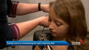 Sask. family turns to fundraising for hearing aids for 9-year-old girl