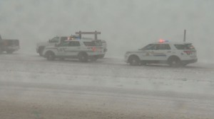 Winter storm causes stalls traffic in southern Alberta