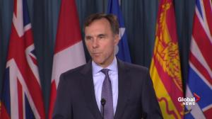 Bill Morneau says assets to be put into blind trust