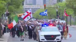 Walk to the Rock commemorates Montreal's Irish community