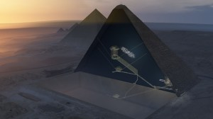 Researchers find mysterious hidden cavity inside Great Pyramid