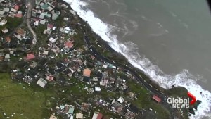 'Mind boggling' damage to Dominica captured by aerial images