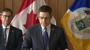 Mayor Brian Bowman talks about the small business tax in proposed budget