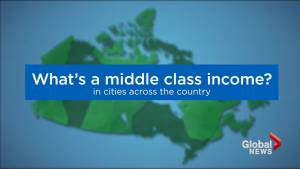 Middle class incomes in cities across the country