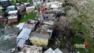 Puerto Rico still struggling one month after Hurricane Maria