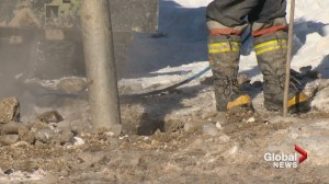 Broken water mains leave some Calgary homes without water