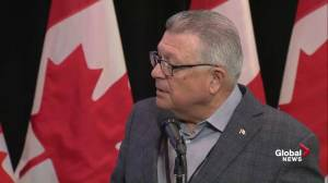 Goodale says outdated marijuana laws needed to be changed for awhile