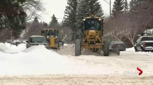 Saskatoon digs out from winter storm