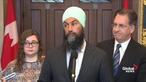 Singh: Trudeau government protects corporations, not people, on wireless prices