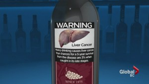 Graphic warning labels on booze could curb alcoholism: B.C. researcher