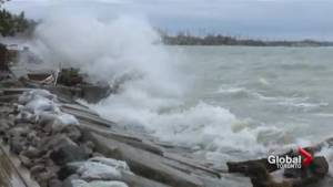 High Lake Ontario water levels leave Bowmanville homes flooded along shoreline