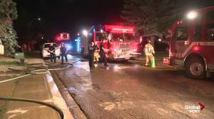 South Edmonton home damaged by fire