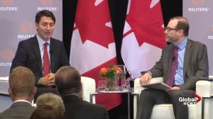 Trudeau says he won't be a 'cheerleader' for Kinder Morgan pipeline project