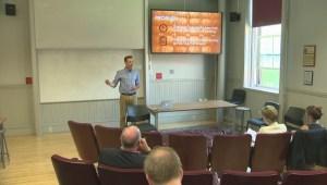 Aspiring entrepreneurs at UNB pitch innovative ideas