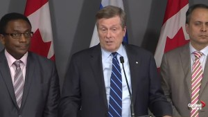 Tory still against Ontario Place casino, but says 'better transit' needed