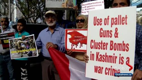 Calgarians protest security crackdown, media blackout in Kashmir