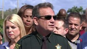 Police receive 'copycat threats' following Florida school shooting