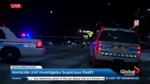 Calgary police investigate body found in Westbrook Mall parking lot