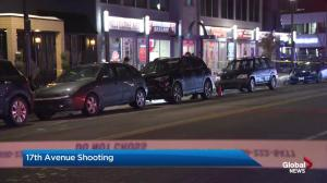 Shots fired on 17 Avenue S.W. in Calgary