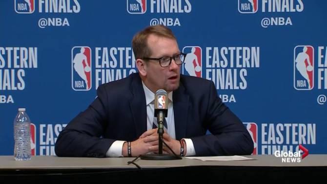Milwaukee Bucks beat Toronto Raptors to lead Eastern Conference finals 2-0