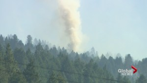 Philpott Road wildfire continues to challenge fire firefighters