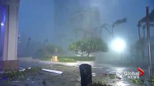 Hurricane Maria packs Category 4 winds as storm makes landfall over Puerto Rico