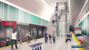 City of Calgary releases new images of Green Line LRT ahead of open houses (01:50)