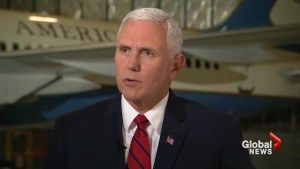 Mike Pence says American detainees in 'good spirits' after release from North Korea