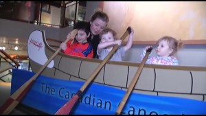 Canadian Canoe Museum staff  planning exhibits for new facility
