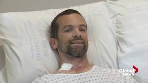 B.C. man who fought off grizzly bear with pocket knife shares survival story