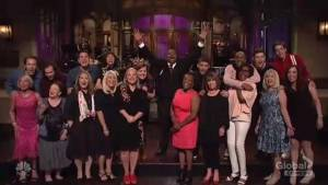 Mothers of SNL cast critique show's political jokes