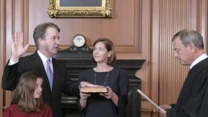 Republicans elevate Brett Kavanaugh to the U.S. Supreme Court