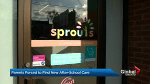 Limited after-school care causes trouble for Toronto parents (03:14)