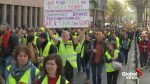 Yellow vests demonstrate in Paris for 21st round of protests